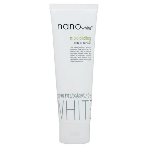 Nano White microfoliating Clay Cleanser  100 g