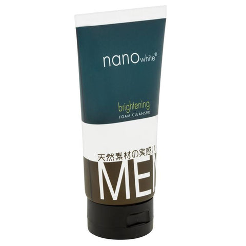 Nano White Men Brightening Foam Cleanser 150 ml