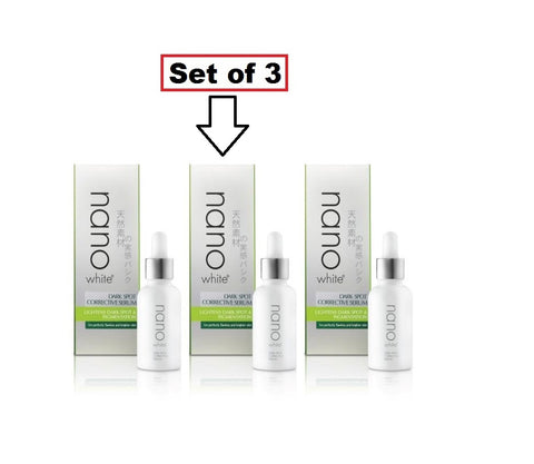 Nano White Dark Spot Corrective Serum 30ml (Set of 3)