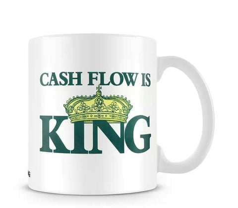 Accountant`s Coffee Mug (Cashflow is King)