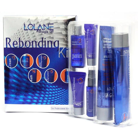 Lolane Rebonding Straightening Hair Cream Kit