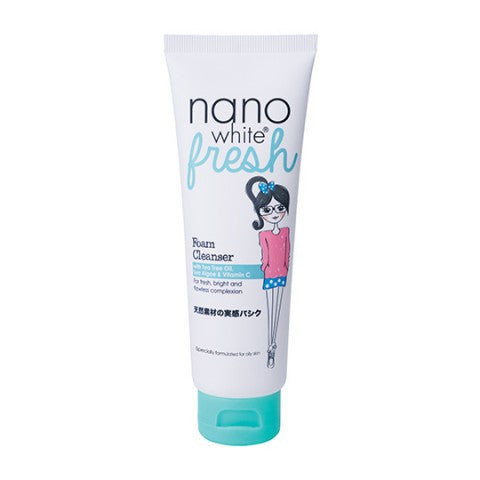 Nano White Fresh Foam Cleanser 100g