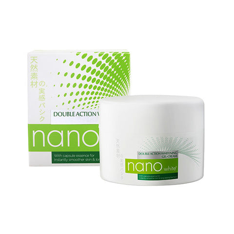 Nano White Double Action Whitening Gel Cream  40 ML