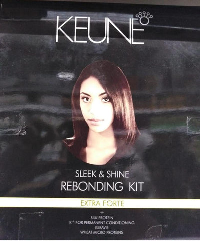Keune Sleek & Shine Rebonding Kit