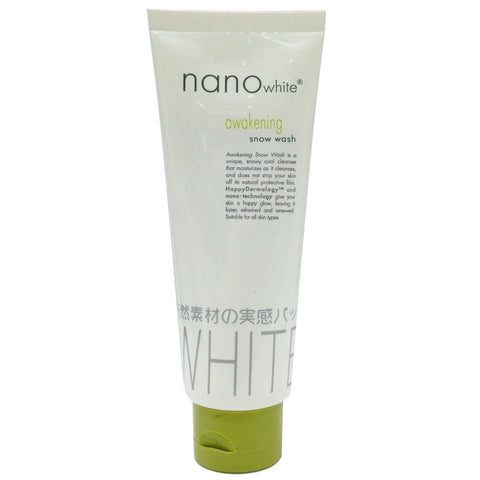 Nano White Awakening Snow Wash 100g