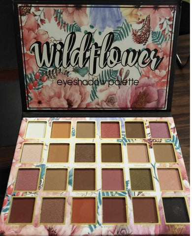 WILD FLOWER EYE SHADOW Palette 24 Shades