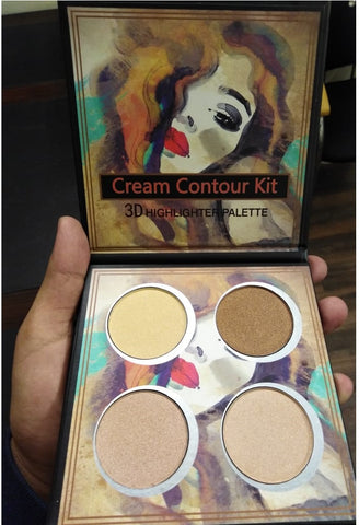 YANCHUN Cream Contour Kit  3D HIGHLIGHTER PALETTE
