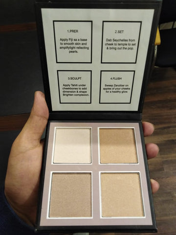 YACHAN Smash Box 3D HIGHLIGHTER PALETTE