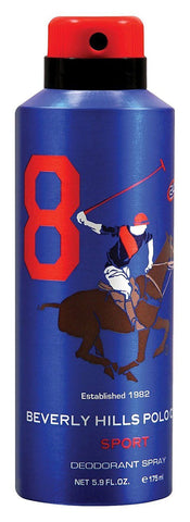 Beverly Hills Polo Club No 8 Deodorant For Men