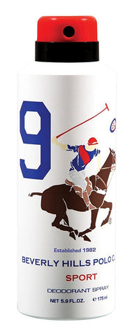 Beverly Hills Polo Club No.9 Deodorant For Men 175 M