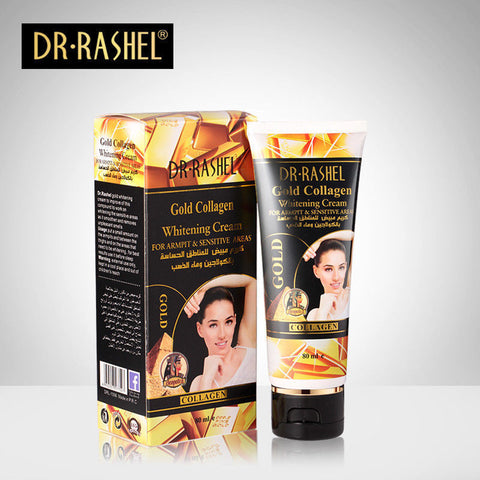 DR.RASHEL Gold Collagen Body Whitening Cream For Sensitive Areas 80 ml