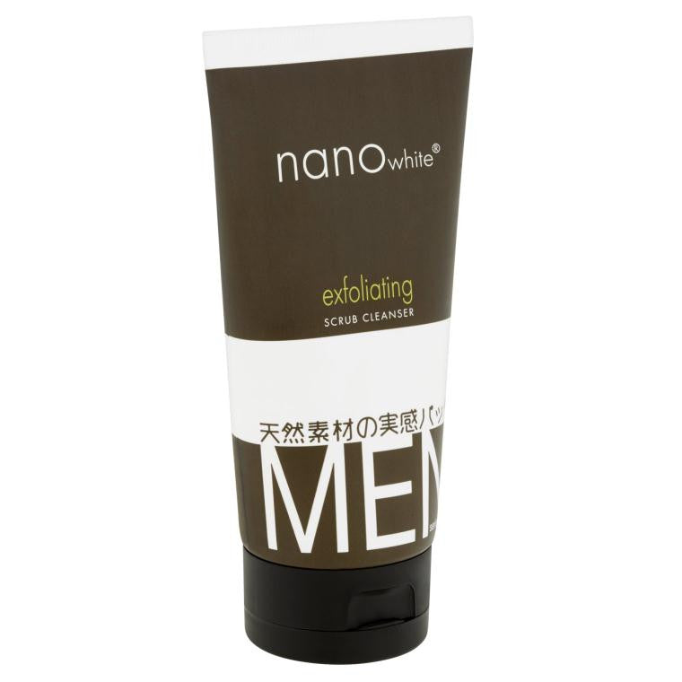 Nano White Men Exfoliating Scrub Cleanser 150 ml