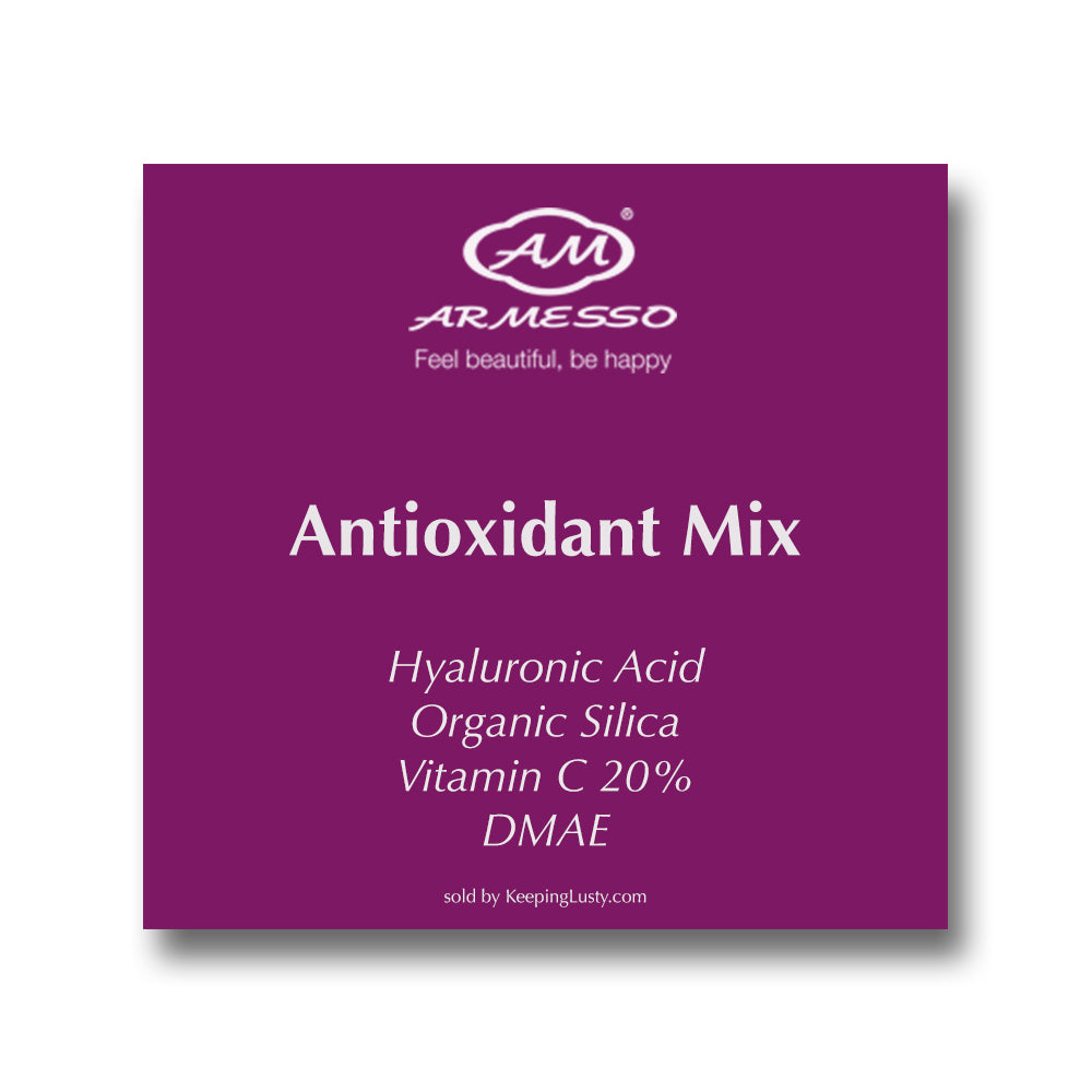 Armesso-AM Antioxidant Mix | Hyaluronic Acid | Organic Silica | Vitamin C | DMAE |