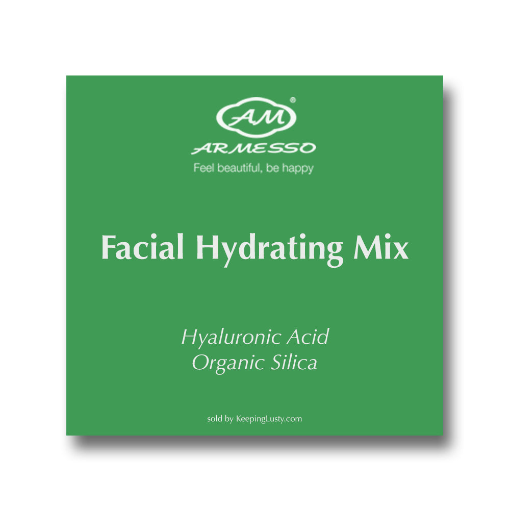 Armesso A.M. Facial Hydrating Mix: Hyaluronic Acid | Organic Silica