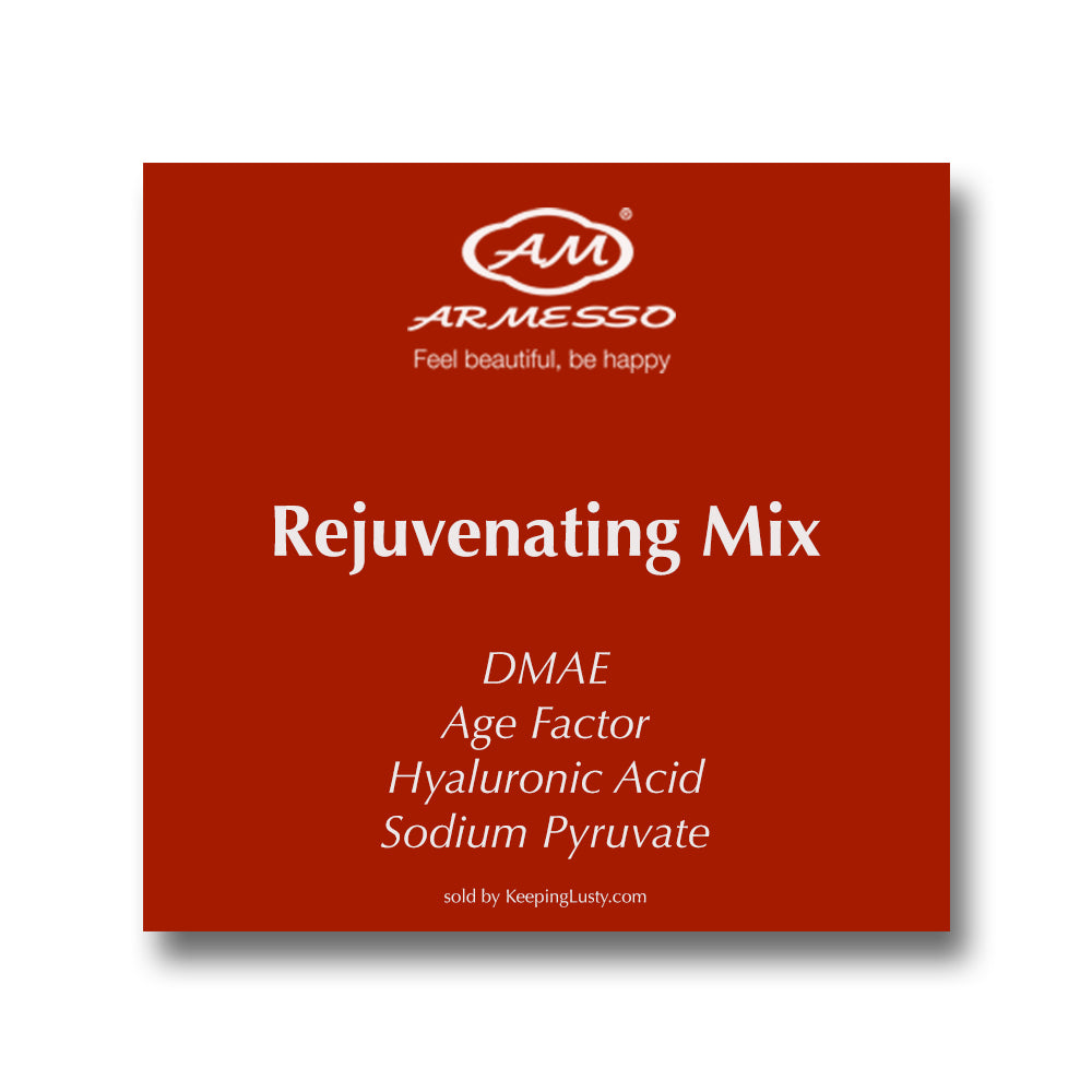 Armesso A.M. Rejuvenating Mix: DMAE | Age Factor | Hyaluronic Acid | Sodium Pyruvate