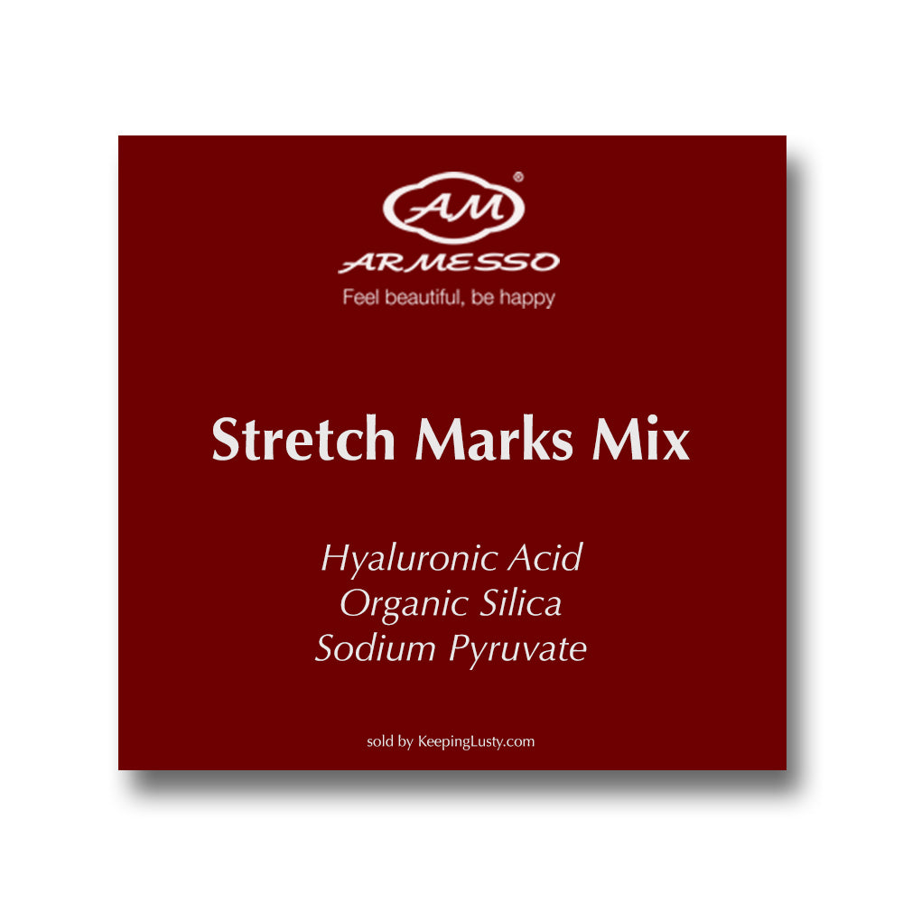 Armesso A.M. Stretch Marks Mix: Hyaluronic Acid | Organic Silica | Sodium Pyruvate