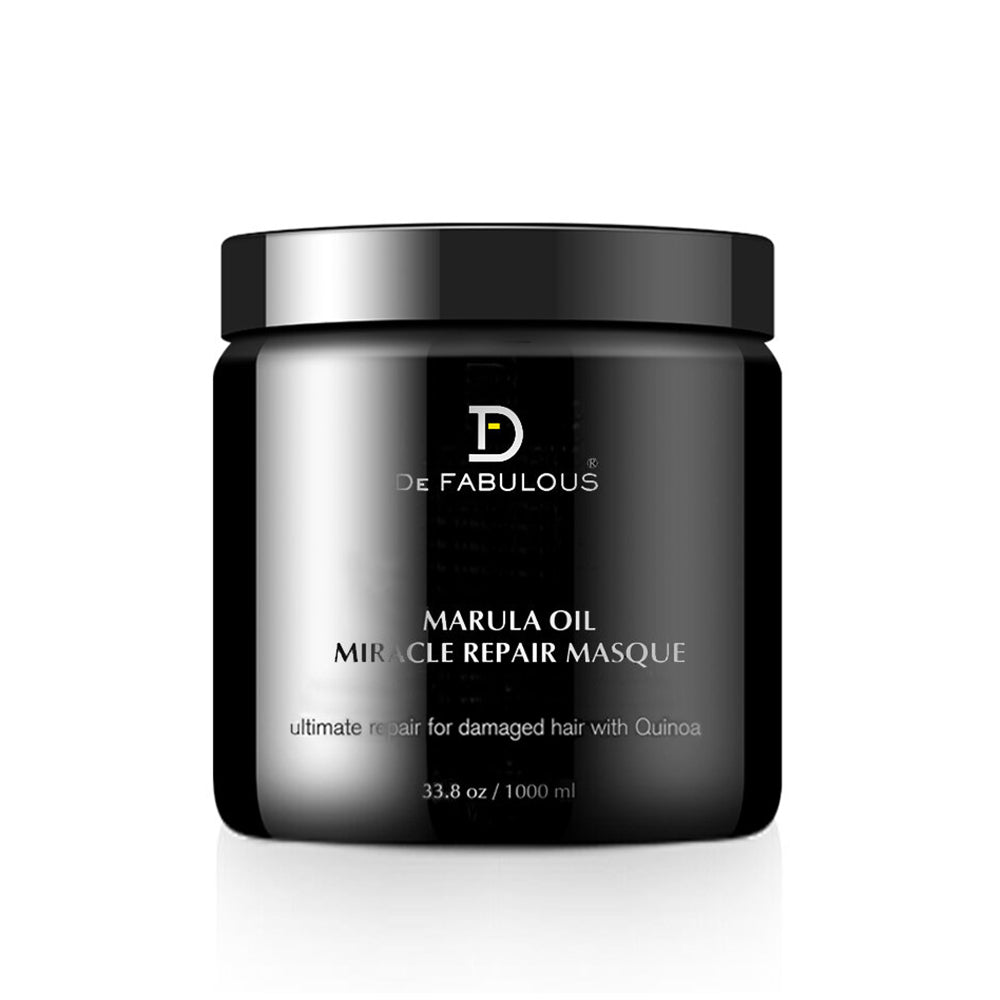 De Fabulous Marula Oil with Quinoa Miracle Repair Masque | 8.5 fl oz - 33.8 fl oz |