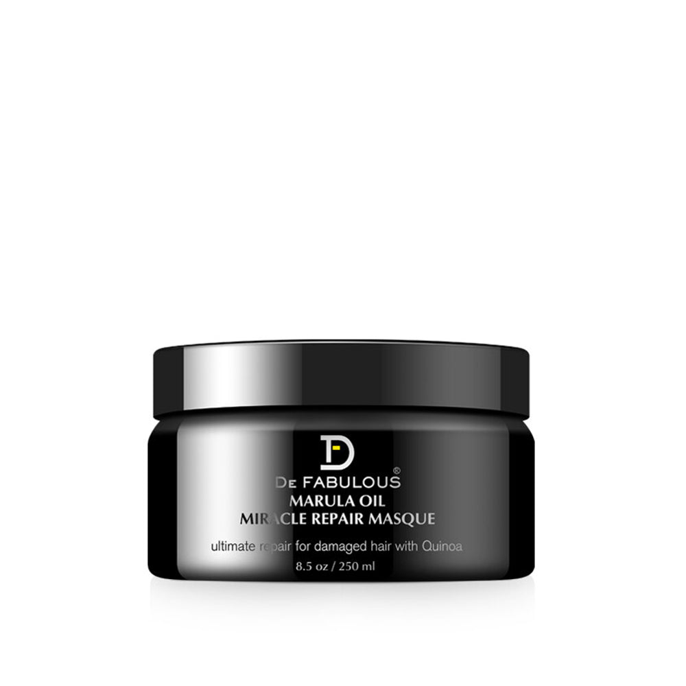 De Fabulous Marula Oil with Quinoa Miracle Repair Masque-Keeping Lusty