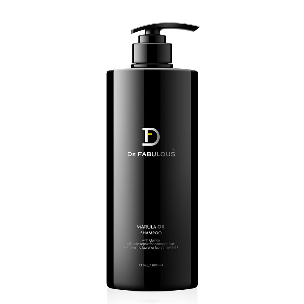 De Fabulous Marula Oil with Quinoa Shampoo-Keeping Lusty