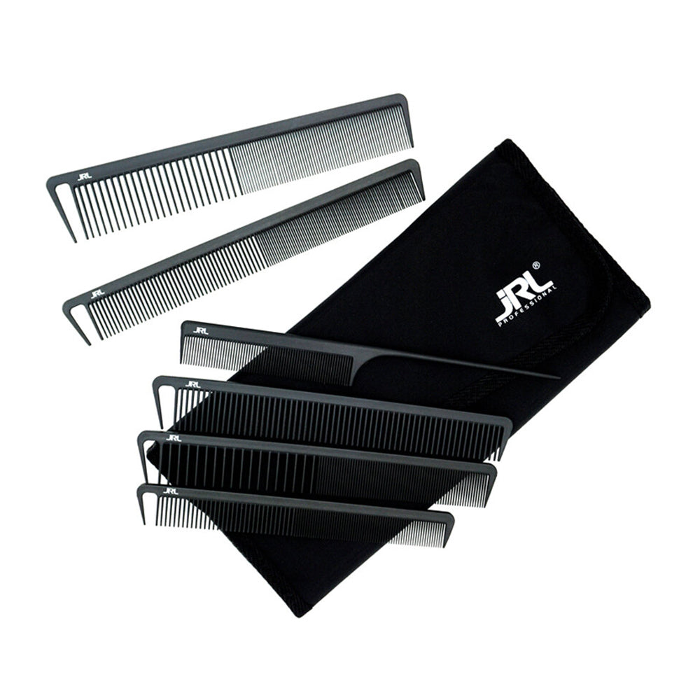 JRL Professional Carbon Combs Set (6)