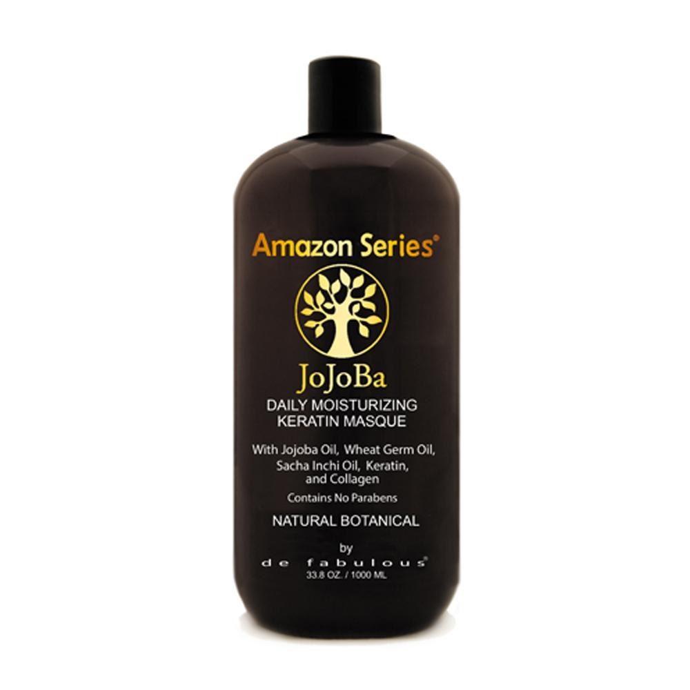 Amazon Series Jojoba Moisturizing Keratin Masque | 8.5 fl oz - 33.8 fl oz |