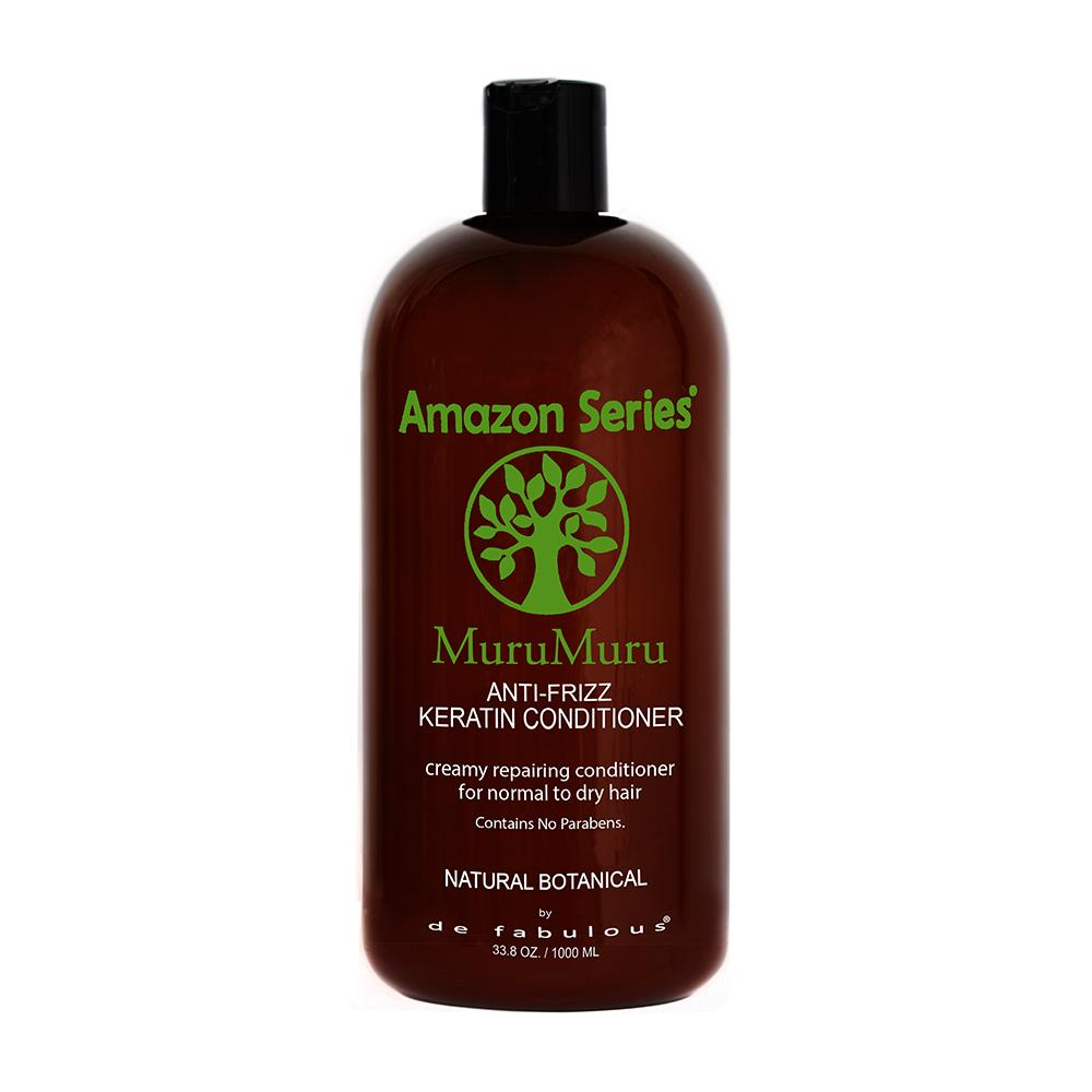 Amazon Series MuruMuru Anti-Frizz Keratin Conditioner | 8.5 fl oz - 33.8 fl oz |