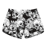 Floral Gothic Shorts