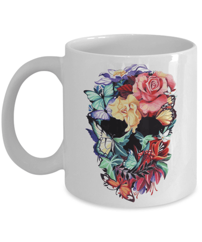 Floral Sector Coffee Mug