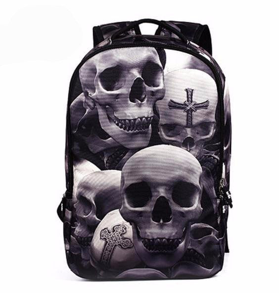 SS cartoon edition BP  -  bag - Skull Sector