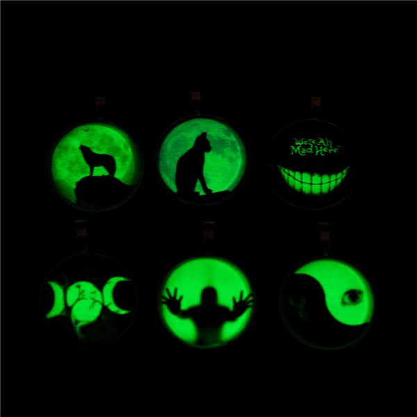 Glow In The Dark SS Pendant