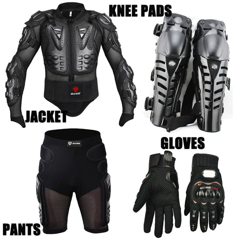 Sport racing full body armor