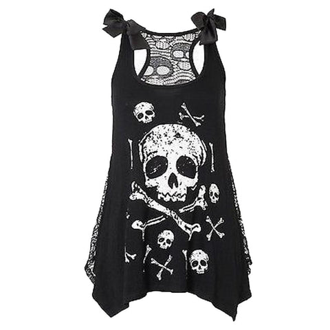 Ursa Skull Summer Sleeveless