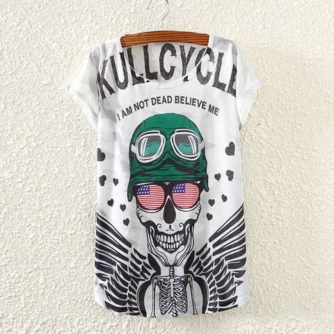 Skull Cycle T-Shirt