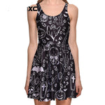 Black ghost Skull Bat Cross Dress Collection