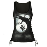 Hollow Night Tank Tops