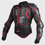 Black/RED Motorcycles Armor Protection