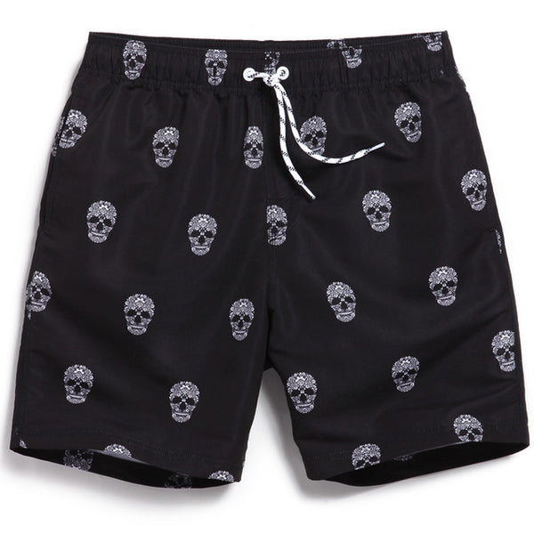 Skull Head Board Shorts