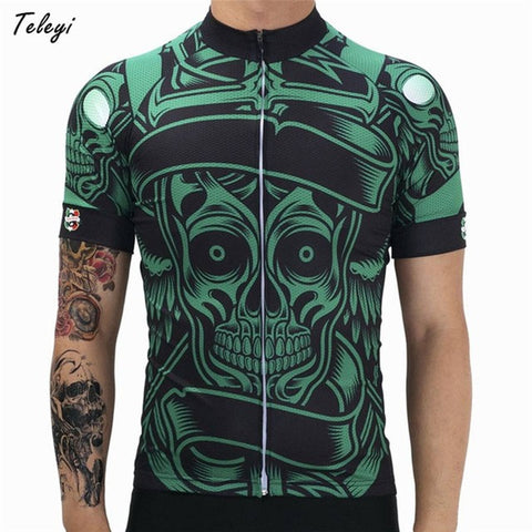 Green Escape Cycling Jersey