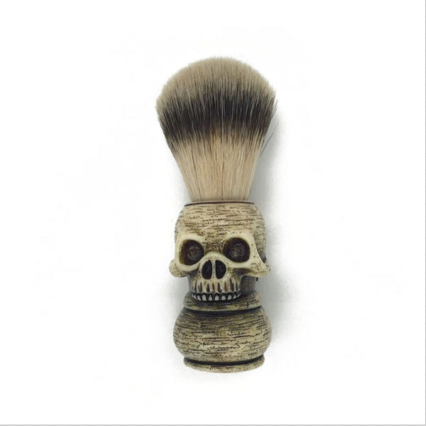 Skull Sector Beard Brush