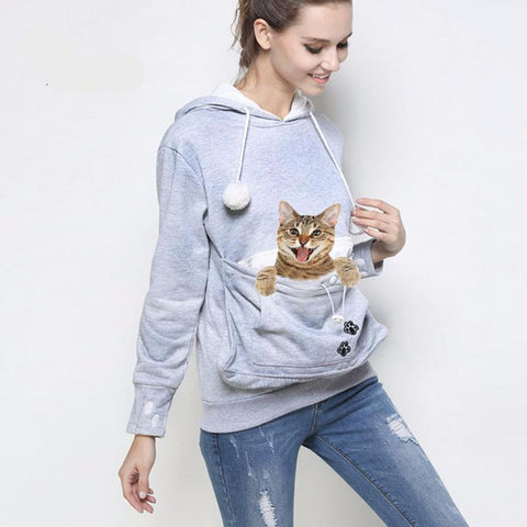 Paw Cuddle Pouch Hoodies