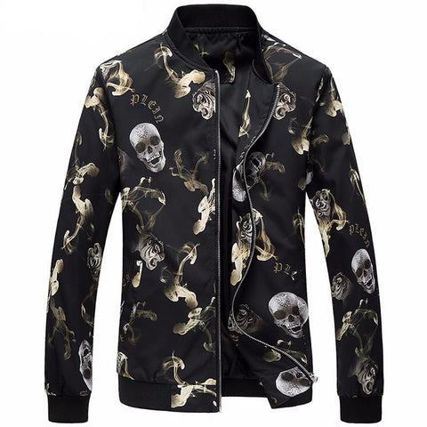 Skull Slim Fit Jacket