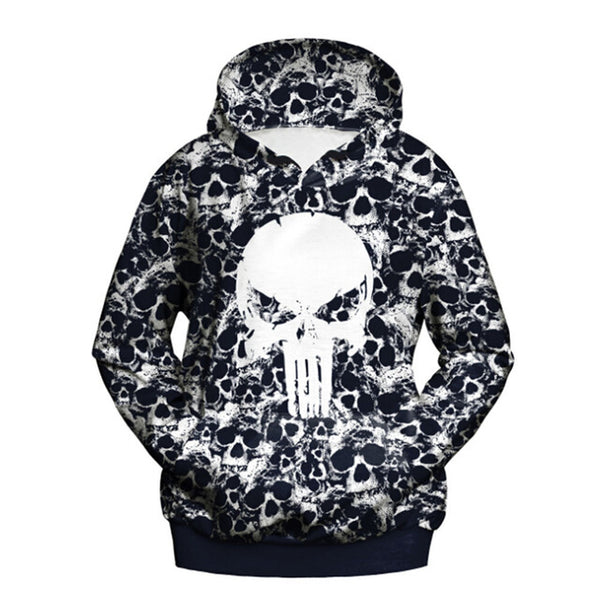 Double Pocket Hooded Skull Collection
