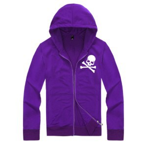 one piece skull hoodies