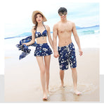 Floral Couples Swimwear
