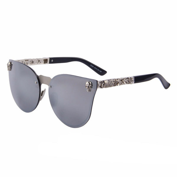 sunglasses with skulls on