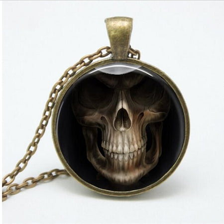 Burning Ghost Necklace