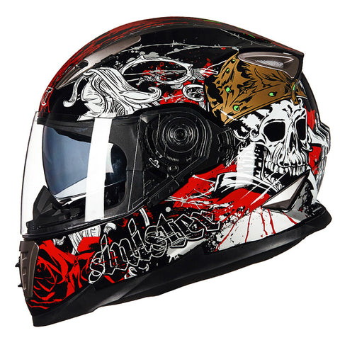Skull Style Men Motorcycle Helmets
