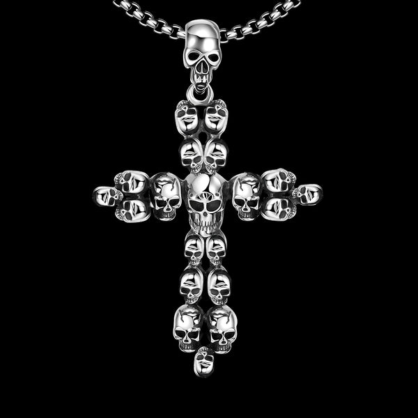 Skull Cross Necklace
