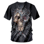 Metal Head Skull T-Shirt