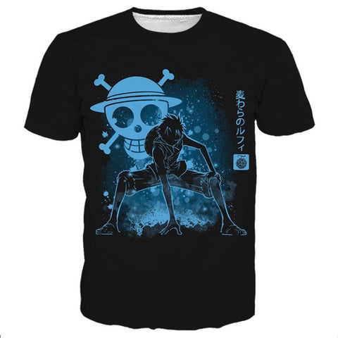 One Piece Skull  T-Shirt